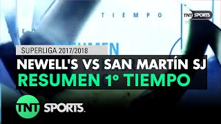 Video Gol Pertandingan Newells Old Boys vs San Martin San Juan