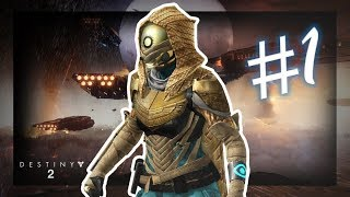 DESTINY 2 Walkthrough Gameplay Hunter - Part 1 - Memories - Campaign Mission 1 (Xbox One S)