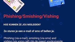 CyberScams: Phishing/Smishing/Vishing