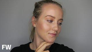 Glowing all over - makeup tutorial | Francesca Walker