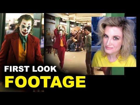 Joker Movie FOOTAGE - Subway Joaquin Phoenix