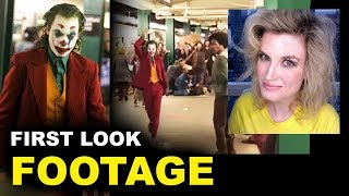 Joker Movie FOOTAGE - Subway Joaquin Phoenix