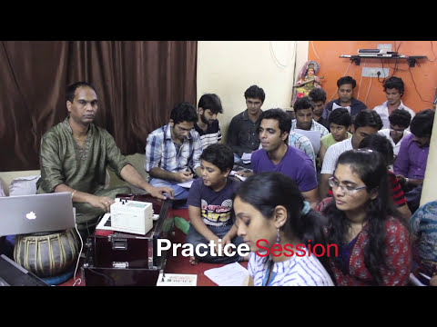 Raag Yaman Practice Session  the Students of Alaap Music Academy