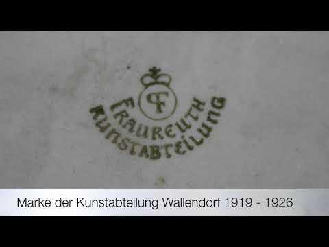 Fraureuther Porzellan Bodenmarken