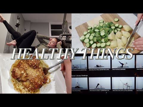 NEW YEAR HEALTHY LIFESTYLE THINGS: lunch & dinner w/chef steph