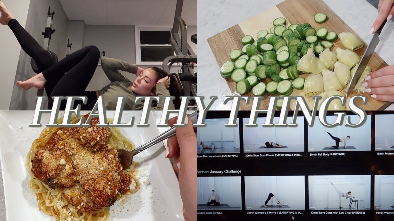 <div>NEW YEAR HEALTHY LIFESTYLE THINGS: lunch & dinner w/chef steph</div>