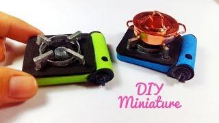 DIY Realistic Miniature Gas Stove / Cách làm bếp ga mini thu nhỏ / Am DIY