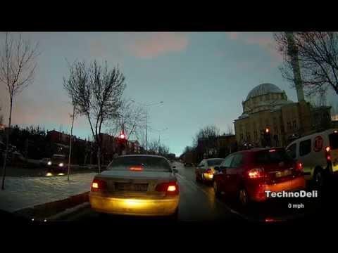 GS90C Ambarella A7LA70 Car Dvr Test Footage
