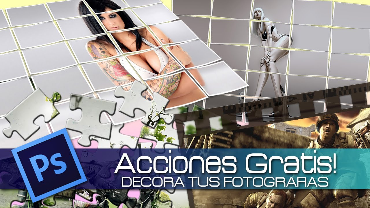 Photoshop cs6 acciones gratis decora tus fotograf as - Decora tus fotos gratis ...