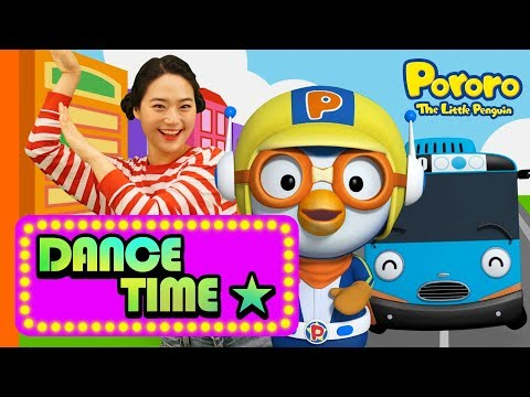 Tayo Opening Song | Dance Along With Pororo The Little Penguin | Nursery Rhymes L Kids Songs Dance