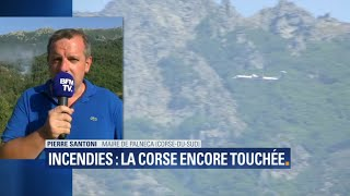 Incendies en Corse: