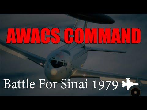 Falcon 4 BMS - AWACS Command (Battle For Sinai 1979)
