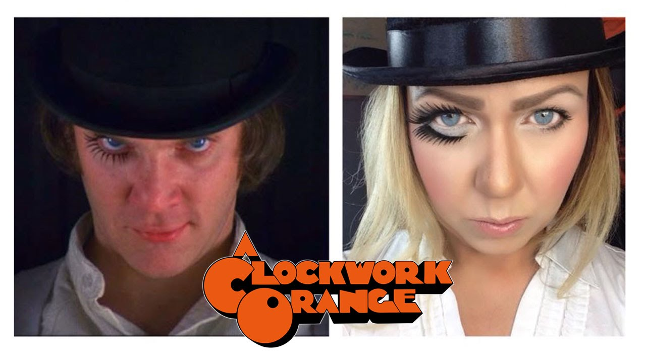 sc 1 st  YouTube & A CLOCKWORK ORANGE HALLOWEEN COSTUME - DIY - Missy Chrissy - - YouTube