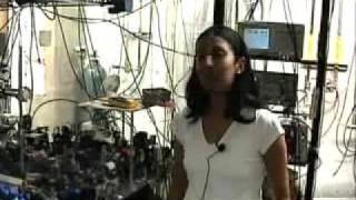 Killian lab creates Bose-Einstein condensate from strontium