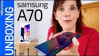 Samsung Galaxy A70 -el MÁS GRANDE-