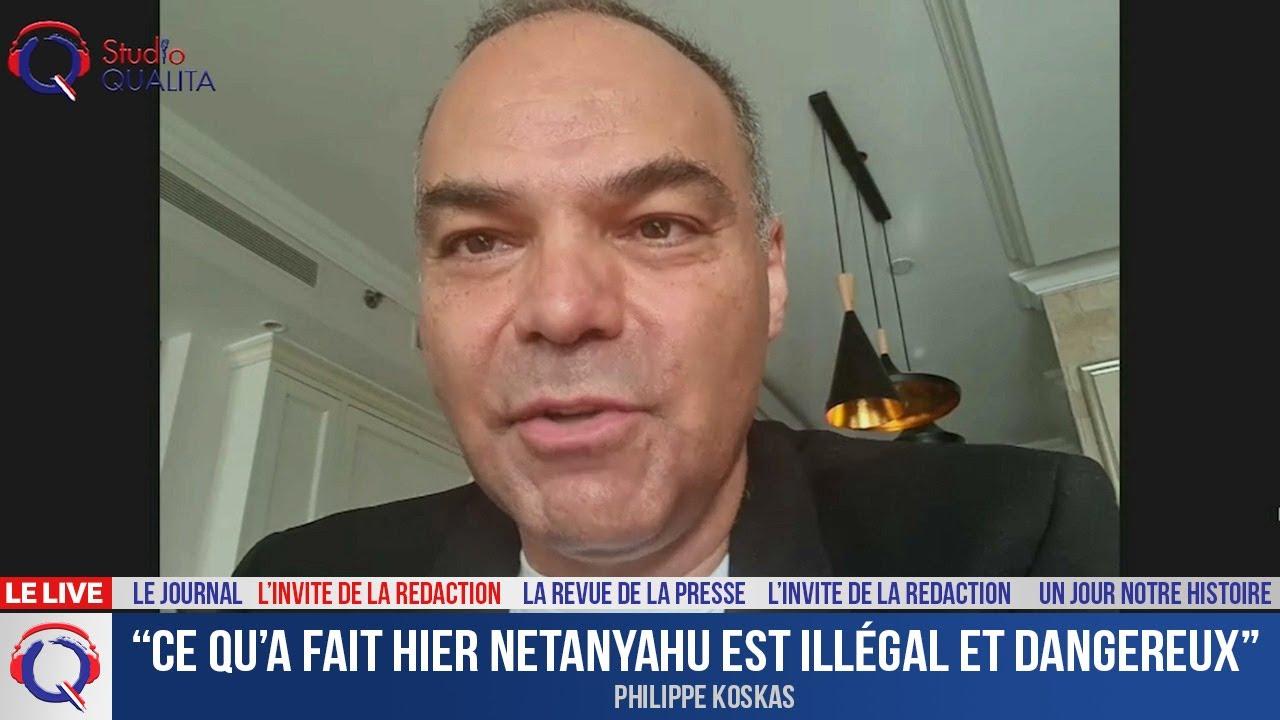 """""""Ce qu'a fait hier Netanyahu est illégal et dangereux"""" - L'invité du 28 avril 2021"""