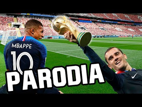 Canción Francia vs Croacia 4-2 (Parodia Ricky Martin - Livin' La Vida Loca)