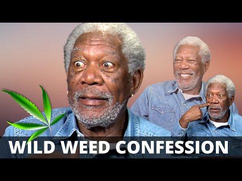 "Morgan Freeman: ""You just smoke enough marihuana..."" on how he keeps his energy up :-)"