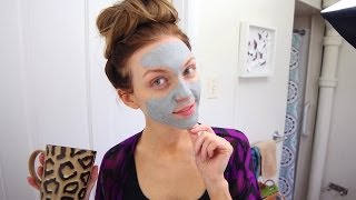 My At-Home Facial Routine Thumbnail