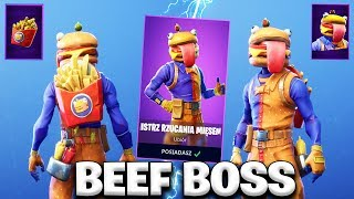 * NEW * EPIC SKIN BEEF BOSS-BUY OR NOT TO BUY? | Fortnite Battle Royale
