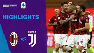 Ac Milan 4-2 Juventus | Serie A 19/20 Match Highlights