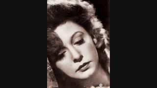 Zarah Leander - Ich Weiss, Es Wird Einmal Ein Wunder Geschehen (Live)