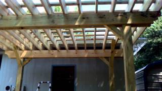 Pergola and deck built the right way!