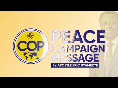 Seek Peace & Pursue It - Apostle Eric Nyamekye