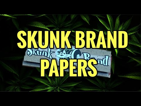 4K SKUNK BRAND HEMP PAPERS