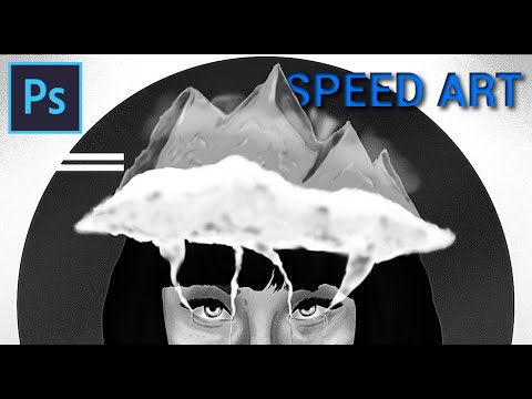 "Speed paint – ""Dreamy eyed"""