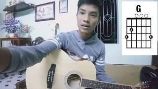 """Dạy guitar bài """"Tuổi hồng thơ ngây"""" và những điều cần biết khi mới chơi đàn- Thái Trương"""