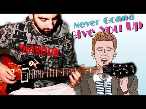 NEVER GONNA GIVE YOU UP - GRUNGE/ROCK COVER