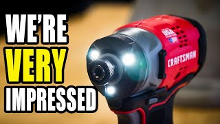 Best Craftsman 20V Impact Driver Yet - CMCF820 Review