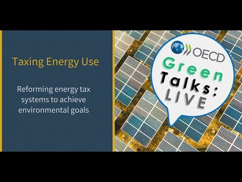 Green Talks LIVE | Taxing Energy Use: Reforming Energy Tax System to achieve environmental goals