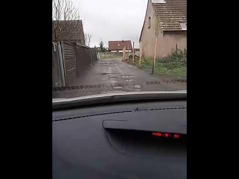 Droga dojazdowa do ulicy Rowerowej w Psarach Polskich