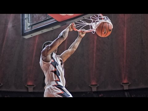 Illini Basketball Highlights vs. Wash U 10/30/16