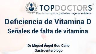 Deficiencia de Vitamina D: señales de que te falta vitamina D