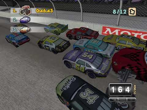 Cars SuperDrive Mod - Monster Mcqueen on Stadium Race
