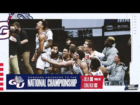 Gonzaga vs. UCLA - Final Four NCAA tournament extended highlights
