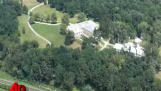 Raw Video: Aerial View of Clinton Wedding Site