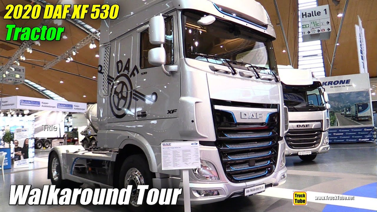 2020 DAF XF 530 Truck by EBB Truck Center - Exterior Interior ...