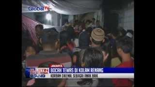 Bocah Tewas Tersedot Filter Sirkulasi Air Kolam Renang GOR Grogol - BIS 28/04