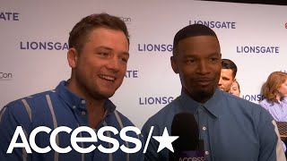 Taron Egerton & Jamie Foxx On Combining The Old & The New In 'Robin Hood' | Access