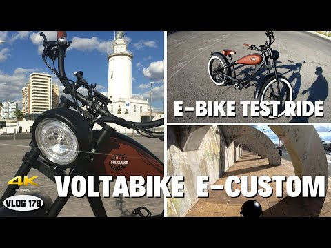 VoltaBike E-Custom - Test Ride On Electric Bicycle - VLOG178 [4K]