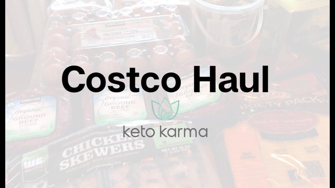 Keto Grocery Haul - Costco 2019