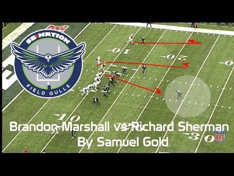 Brandon Marshall beats Richard Sherman in MetLife...Barely (NFL Breakdowns Ep 34)
