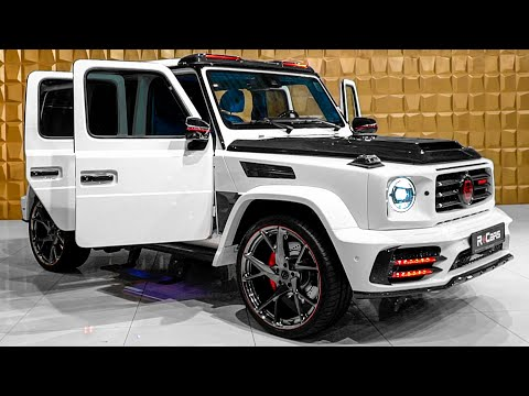 MANSORY Mercedes-AMG G 63 (2020) Star Trooper - Excellent G Wagon from Mansory and Philipp Plein!