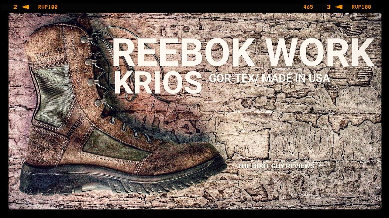 269999038933 Reebok Krios Military and Tactical Boot   THE BOOT GUY REVIEWS ...