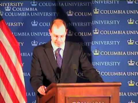 Columbia University World Leaders Forum: Presidential Economic Advisers Forum 2012