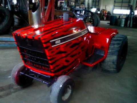 Superb IH 482 3 CYL TURBO DIESEL PULLING LAWNMOWER Design Inspirations